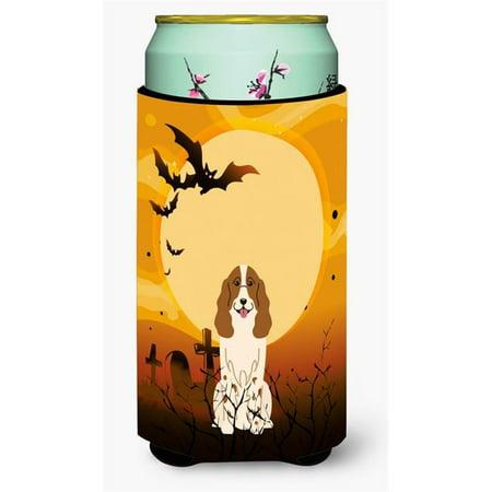 Halloween Russian Spaniel Tall Boy Beverage Insulator Hugger - Russian Halloween