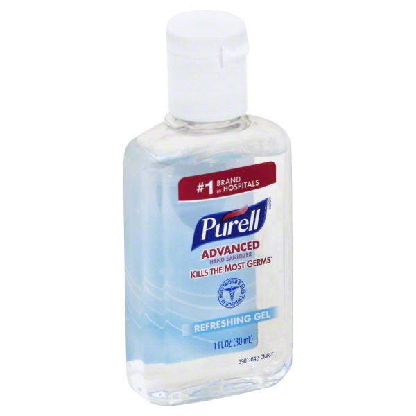 Purell Hand Sanitizer Display Bowl, 1 Ounce Bottles, 36 Count