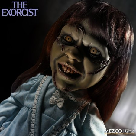 The Exorcist Regan Mega Scale 15 inch with Sound by Mezco *SLIGHTLY DENTED - Exorcist Regan Costume