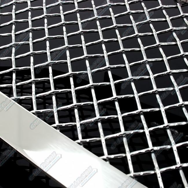 Custom Fits 09-11 2011 Nissan Maxima Stainless Mesh Grill Combo N19-T47777N