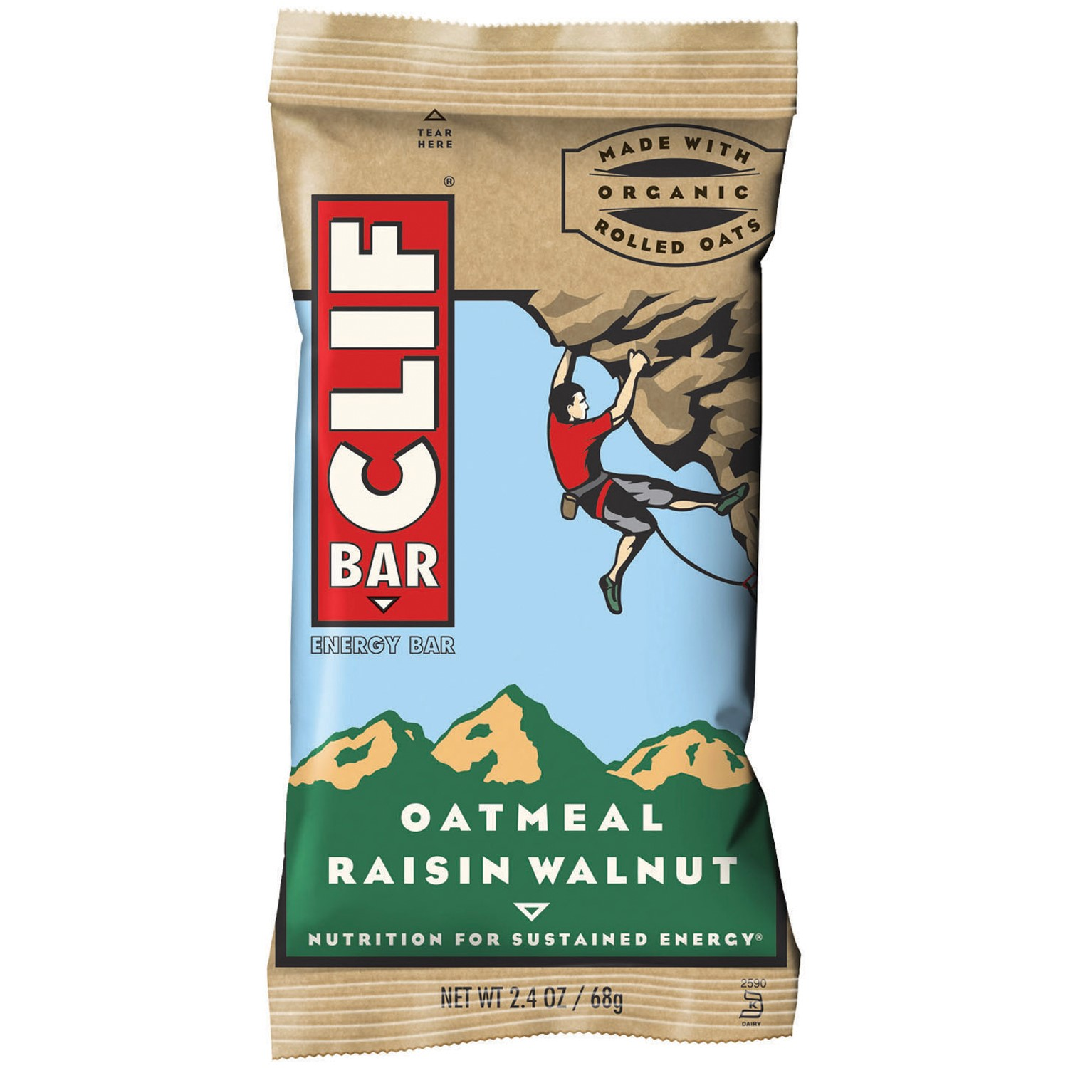 CLIF Bar® Oatmeal Raisin Walnut Energy Bars 12 ct Box