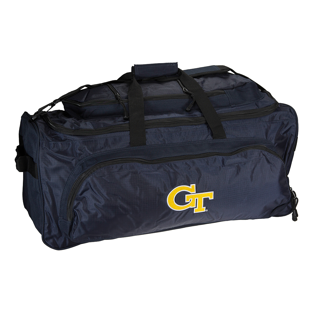 NCAA Heavy Duty Collegiate Sport 27 Large Duffel Tote Bag School College Duffle by