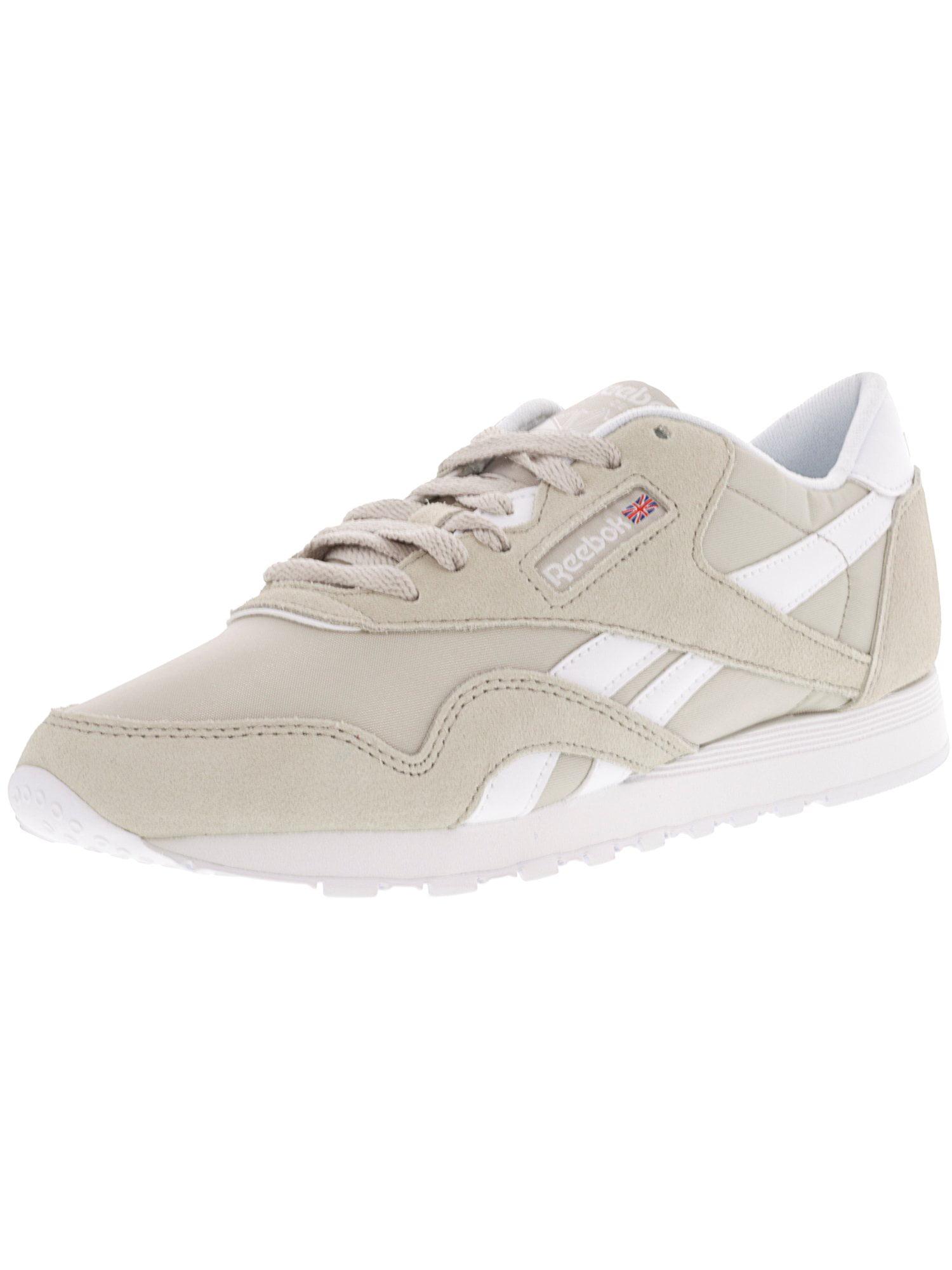 6b965dee63f8b Reebok - Reebok Women s Cl Nylon Neutrals Sandstone   White Ankle ...