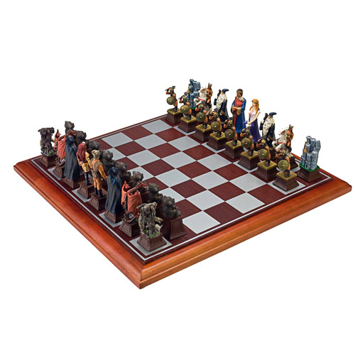 Sterling Games Good vs Evil Chess Set by Sterling Games