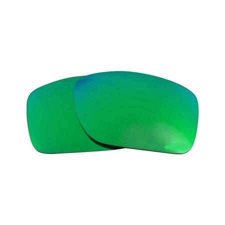 Replacement Lenses Compatible with OAKLEY TURBINE Polarized Emerald Green (Oakley Turbine Accessories)