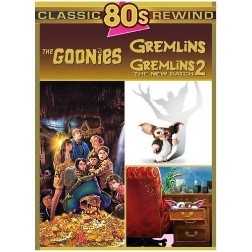 Classic 80's Rewind: The Goonies Gremlins  Gremlins 2 (DVD) by WARNER HOME VIDEO