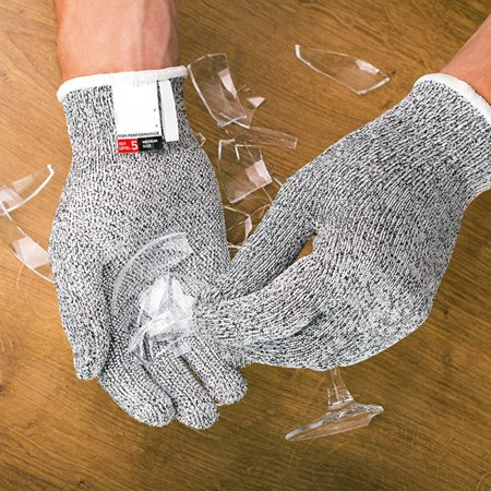 Stainless Steel Safety Antic Cut Stab Resistant Metal Mesh Butcher Gloves (Butchers Stainless Steel Glove)