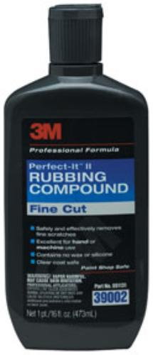 16 Oz 3m 3M-39002 Perfect-it Ii Rubbing Compound 39002