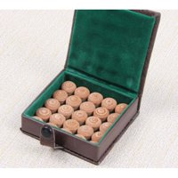 Lot of 10 Pool Billiard 12-Layers Soft or Medium leather Pool Cue Tips 13 MM