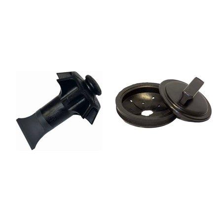 Whirlaway 191 & 291 Replacement Garbage Disposal Disposer Stopper Splash Guard and Danco 10450 Disposal -