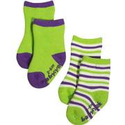 Mak the Yak - Little Boys Bootie Sock (Pack of 2) MULTICOLOURED / 6 - 12 Months