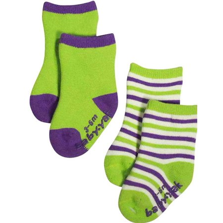 Mak the Yak - Little Boys Bootie Sock (Pack of 2) MULTICOLOURED / 6 - 12