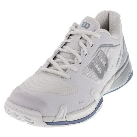 661b6152fdce Women s Wilson Rush Pro 2.5 Teenis Shoe (White Peral Blue Stonewash ...