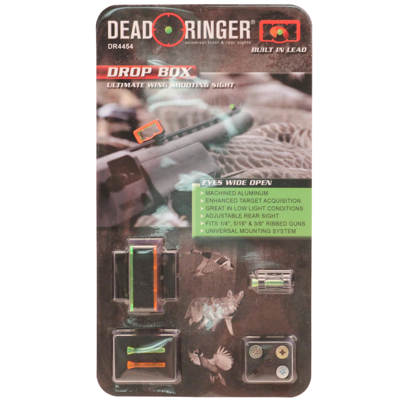 DEAD RINGER DROP BOX LEXAN ORANGE/GREEN ALUM BLACK