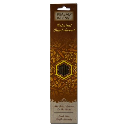 Incense Gift - Prasad Gifts - Celestial Incense, Sandalwood, 10 pieces