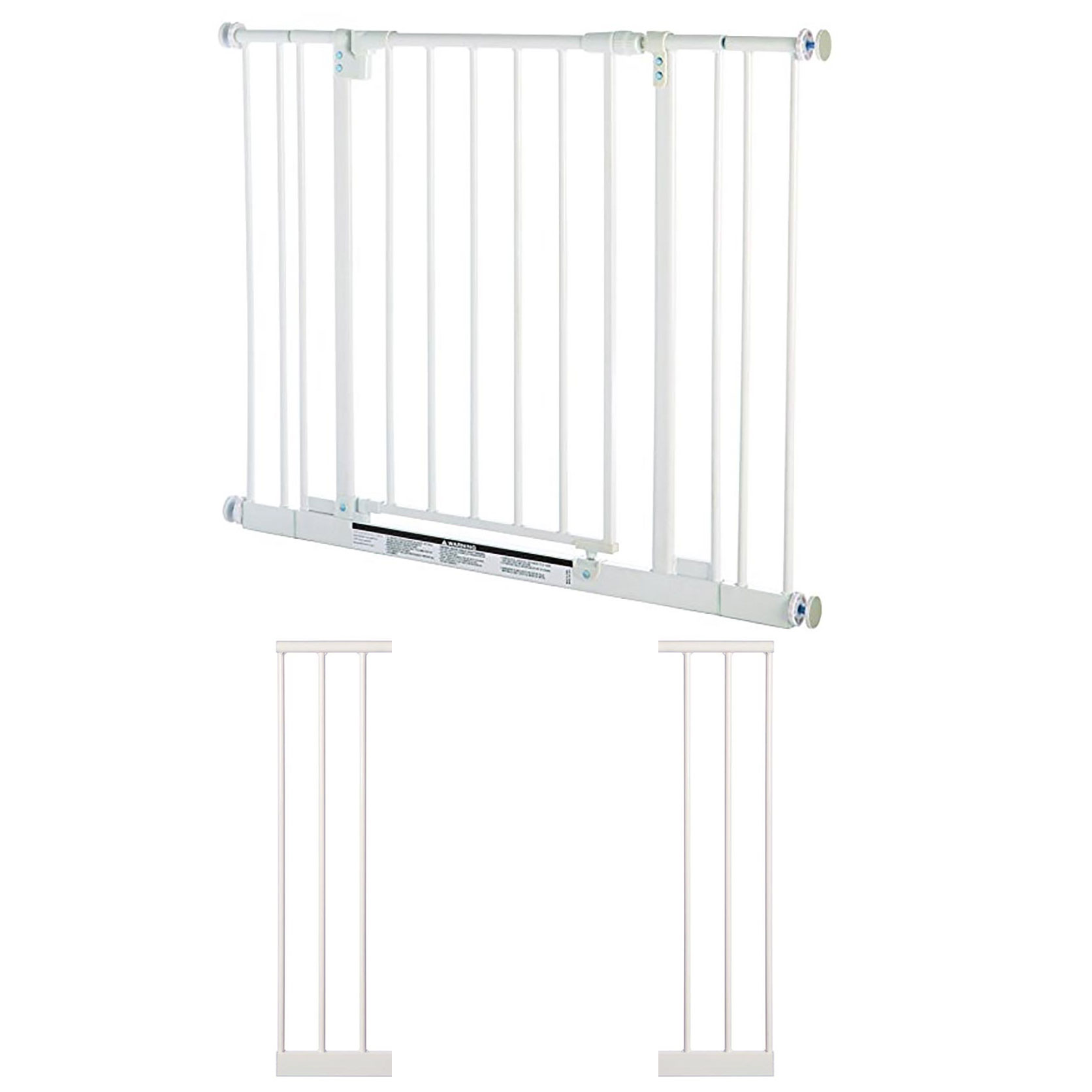 "North States Easy-Close 28 to 38.5"" Child or Pet Safety Gate + 7"" Gate Extension by North States"