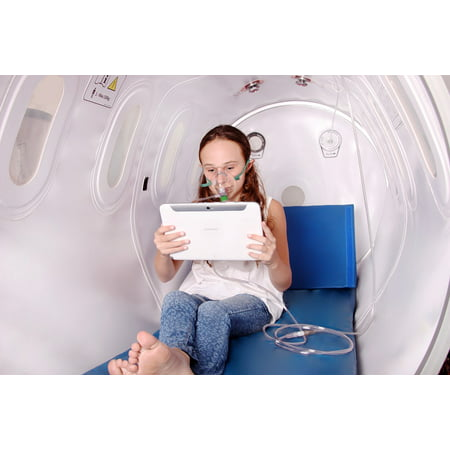 - Peel-n-Stick Poster of Oxygen Treatment Chamber Hyperbaric Tablet Poster 24x16 Adhesive Sticker Poster Print