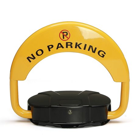 - Pay Parking And Private Parking Space Protection Lock With Locked Remote Control Yellow & Black