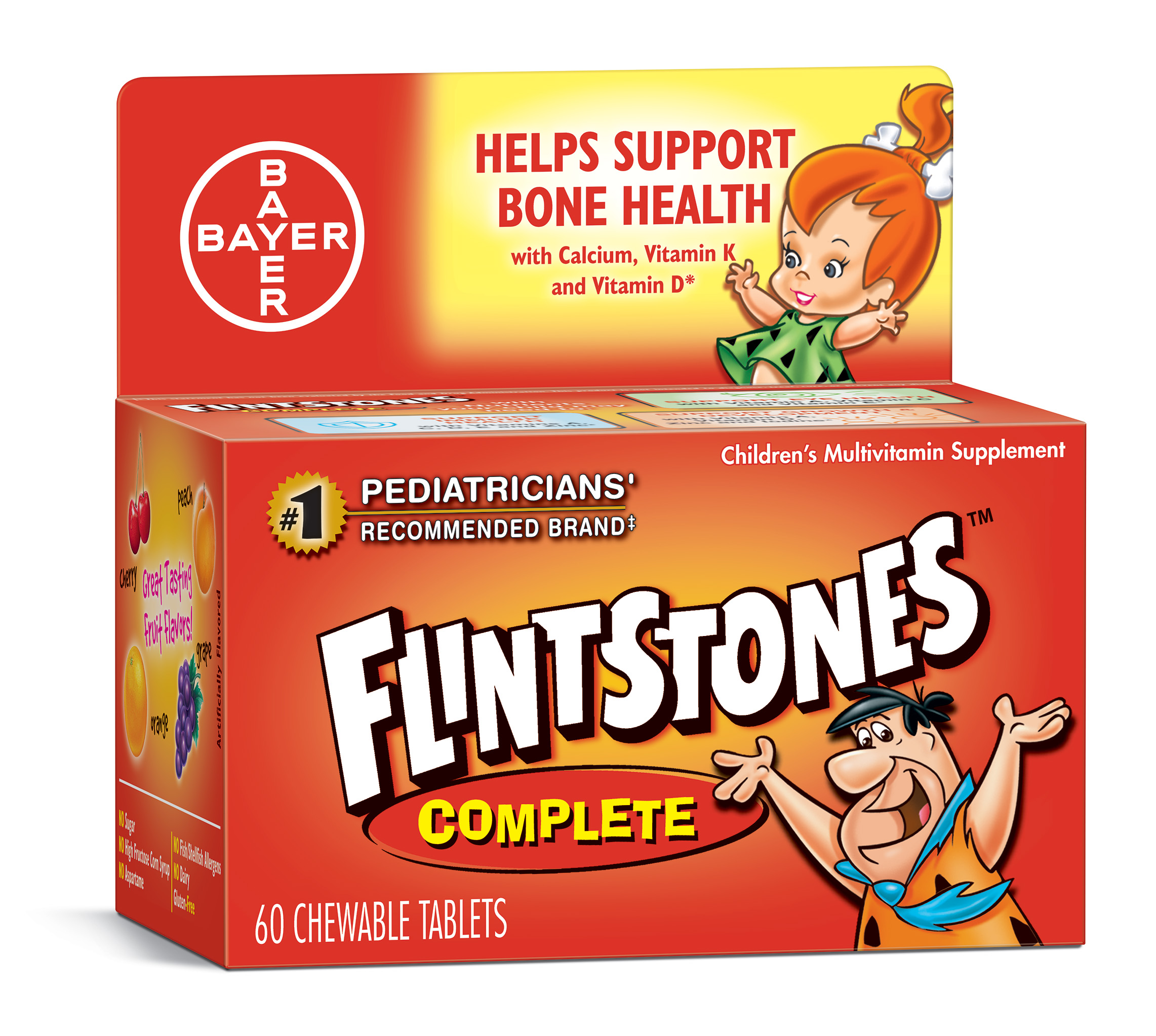 Flintstones Children's Complete Chewable Multivitamin, 150 Count -  Walmart.com