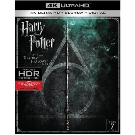 Harry Potter And The Deathly Hallows Part 2 (4K Ultra HD + Blu-ray + Digital)