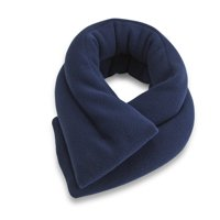 Sunny Bay Extra Long Neck Heating Wrap, Microwavable Heat Pad, Heated Neck Wrap (Midnight Blue)