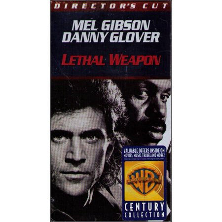 Lethal Weapon Director's Cut VHS Tape - (Mel Gibson / Danny Glover)