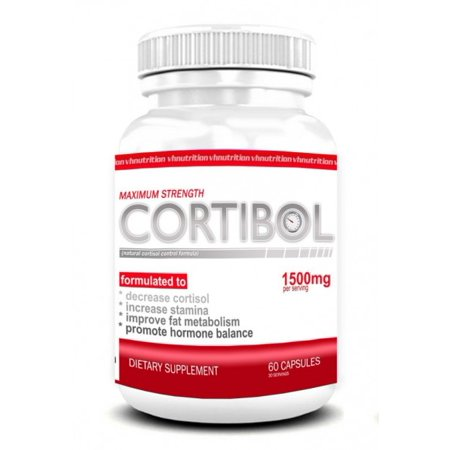 Cortibol Cortisol Manager And Blocker   Adrenal Fatigue Support Supplement For Women And Men