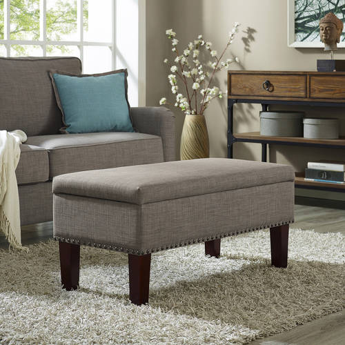Better Homes and Gardens Grayson Ottoman Storage Bench by Dorel Asia