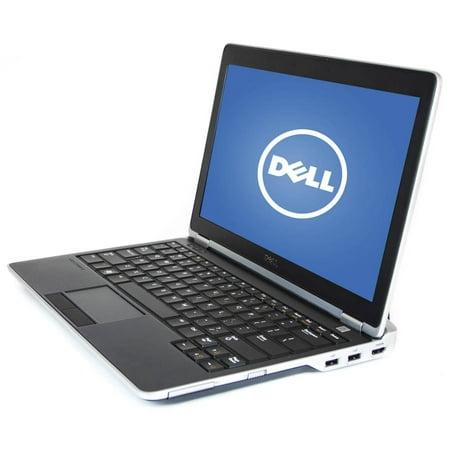 """Refurbished Dell Black 12.5"""" Latitude E6220 WA5-0984 Laptop PC with Intel Core i5-2520M Processor, 4GB Memory, 128GB Solid State Drive and Windows 10 Pro"""