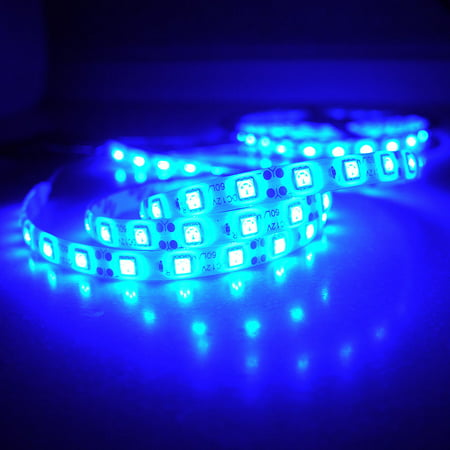 Ultra Blue 5M 5050 SMD 300 LED Strip Light Flexible Tape DIY Lamp Waterproof 12V (12v Superstar Led Tape)