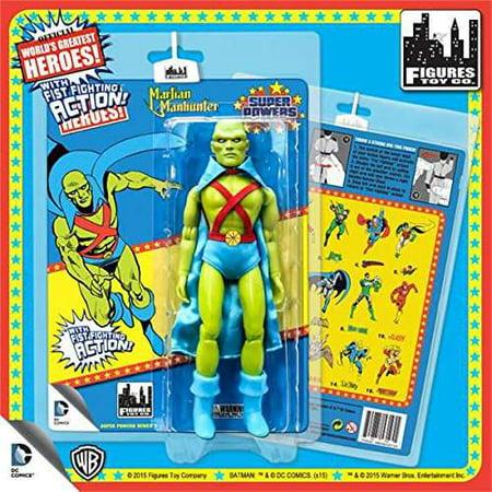 DC World's Greatest Heroes Super Powers Series 3 Martian Manhunter Action - Martian Manhunter Cosplay