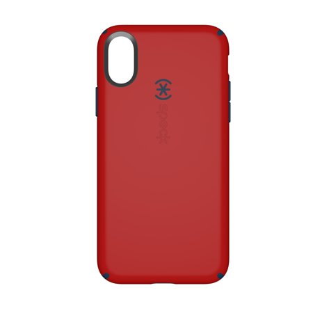 Speck CandyShell Case for iPhone X, Red/Blue (Iphone 6 Cases Speck Faceplate)