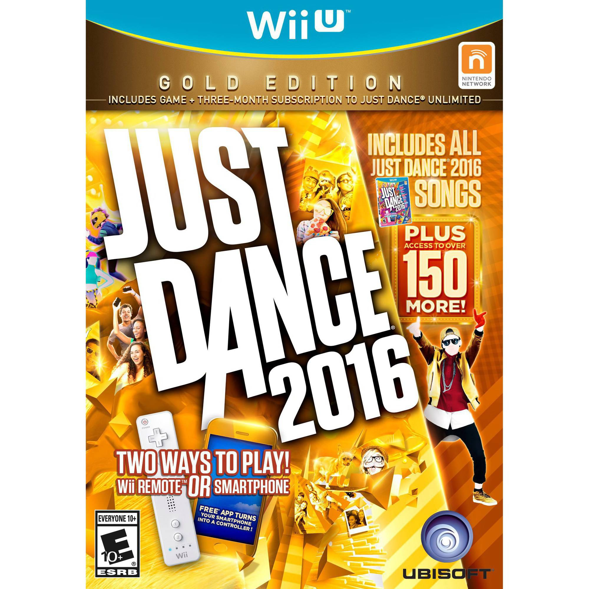 Just Dance 2016 Gold Edition (Wii U)