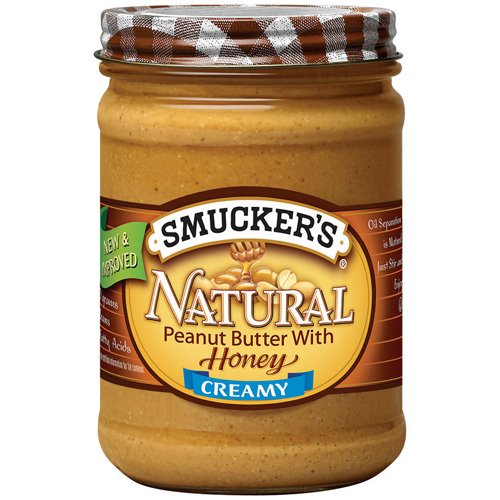 Smucker's Natural: Creamy w/Honey Peanut Butter, 16 Oz