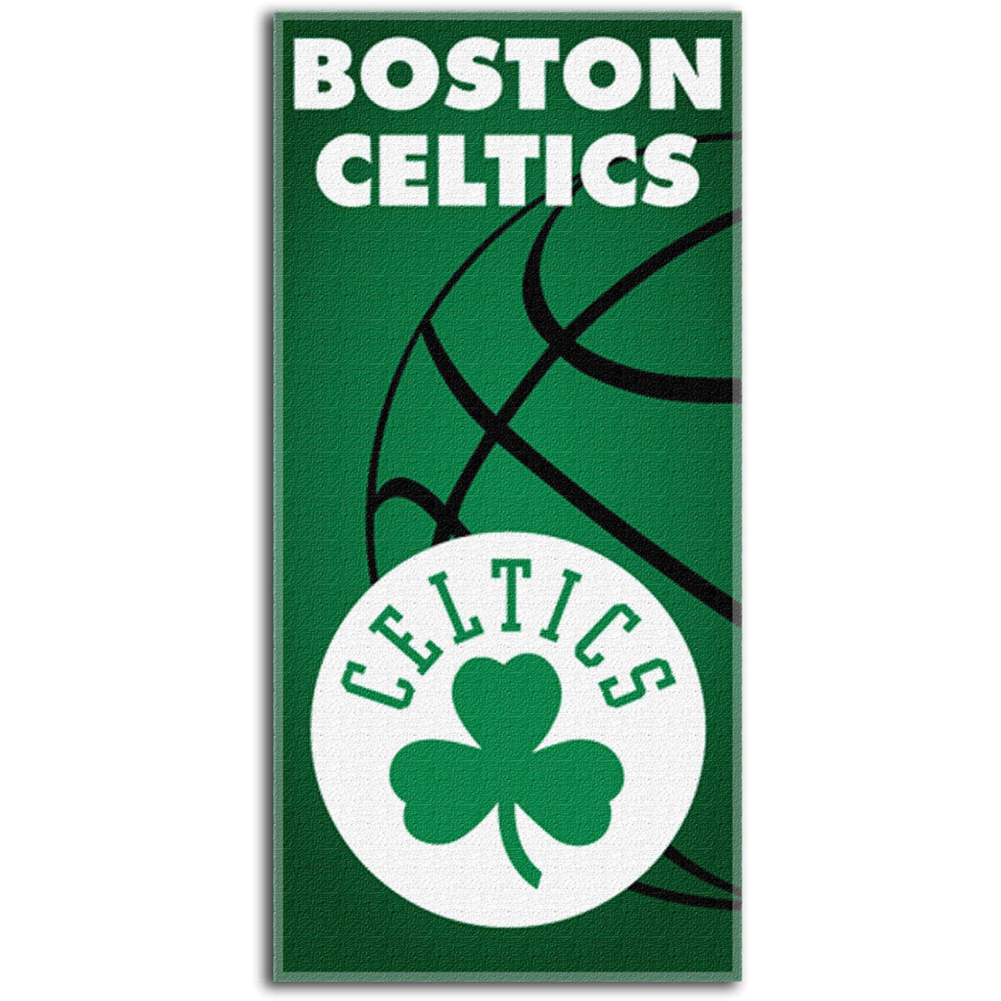 NBA - Boston Celtics 30x60 Fiber Reactive Beach Towel