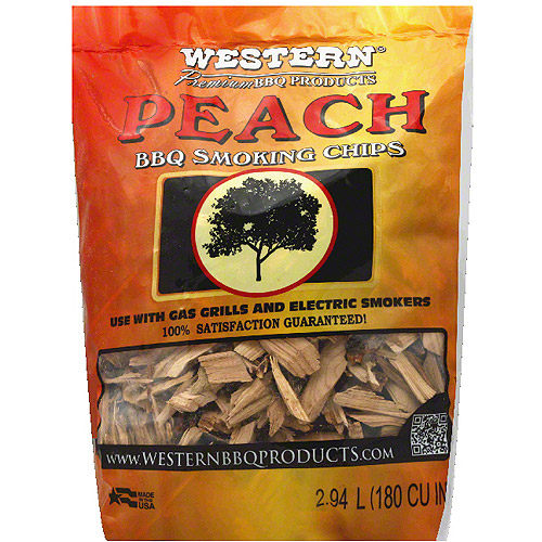 Generic Wood Chip Smkng Peach, 2 Lb (pack Of 6)