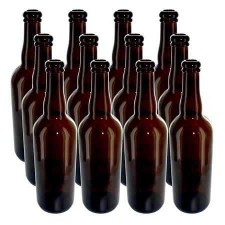 Belgian 750 ml Beer Bottles, case of 12 (Beer Belgium)