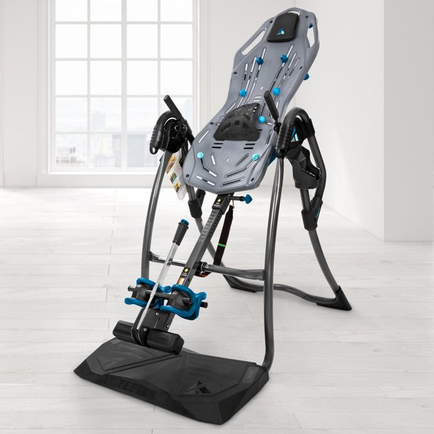Teeter FitSpine LX9 Inversion Table with Back Pain Relief DVD