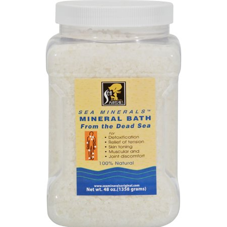 Meditation Mineral Bath (Sea Minerals Mineral Bath From The Dead Sea - 48 oz)
