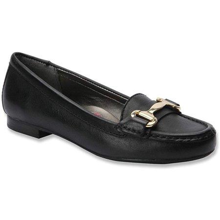Ros Hommerson Women's Regina Black Burnished Leather 9.5 WW