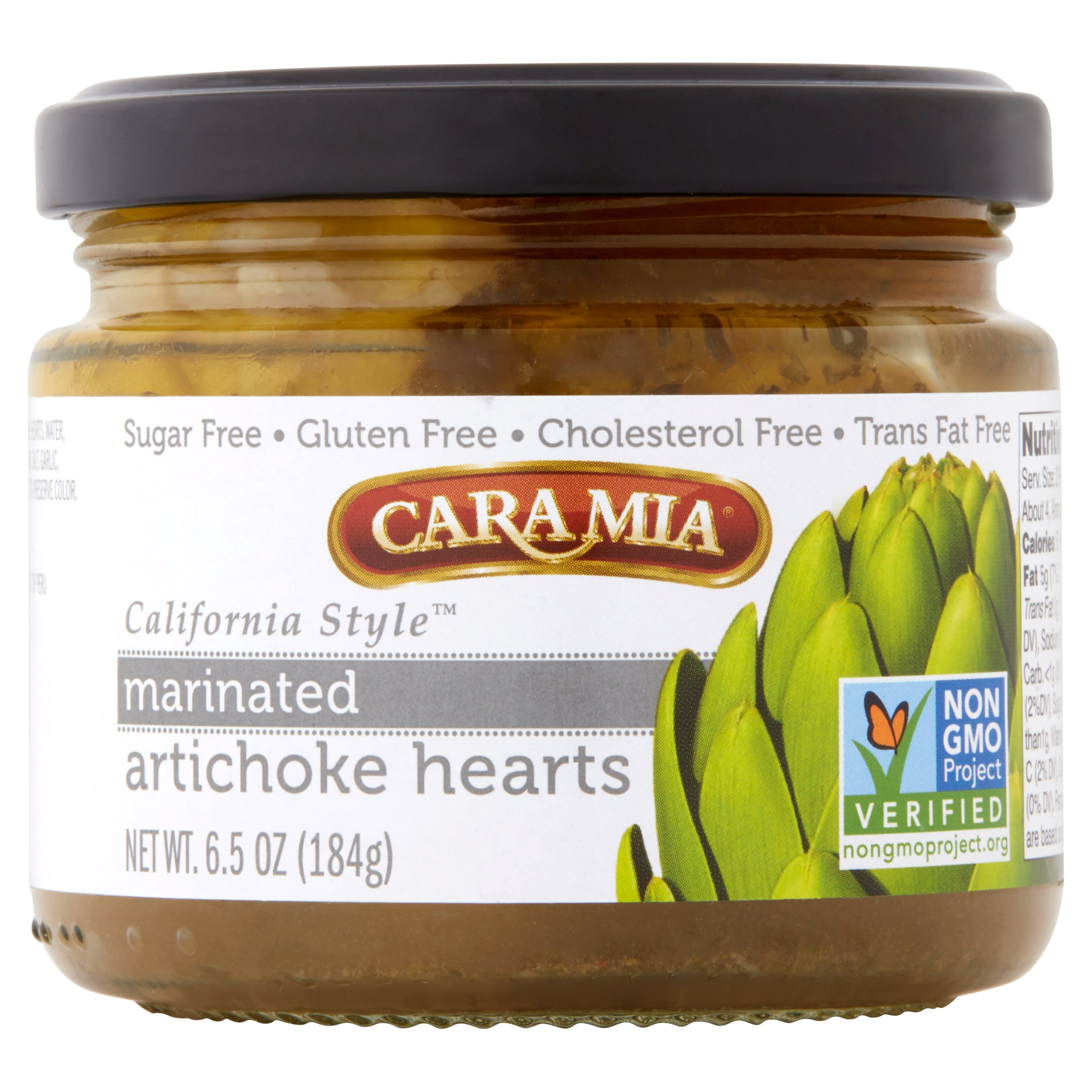 Cara Mia California Style Marinated Artichoke Hearts, 6.5 oz by Cara Mia Products