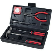 Household Hand Tools, Tool Set - 6 Piece by Stalwart - Tool Kit for the Home, Office, or Car