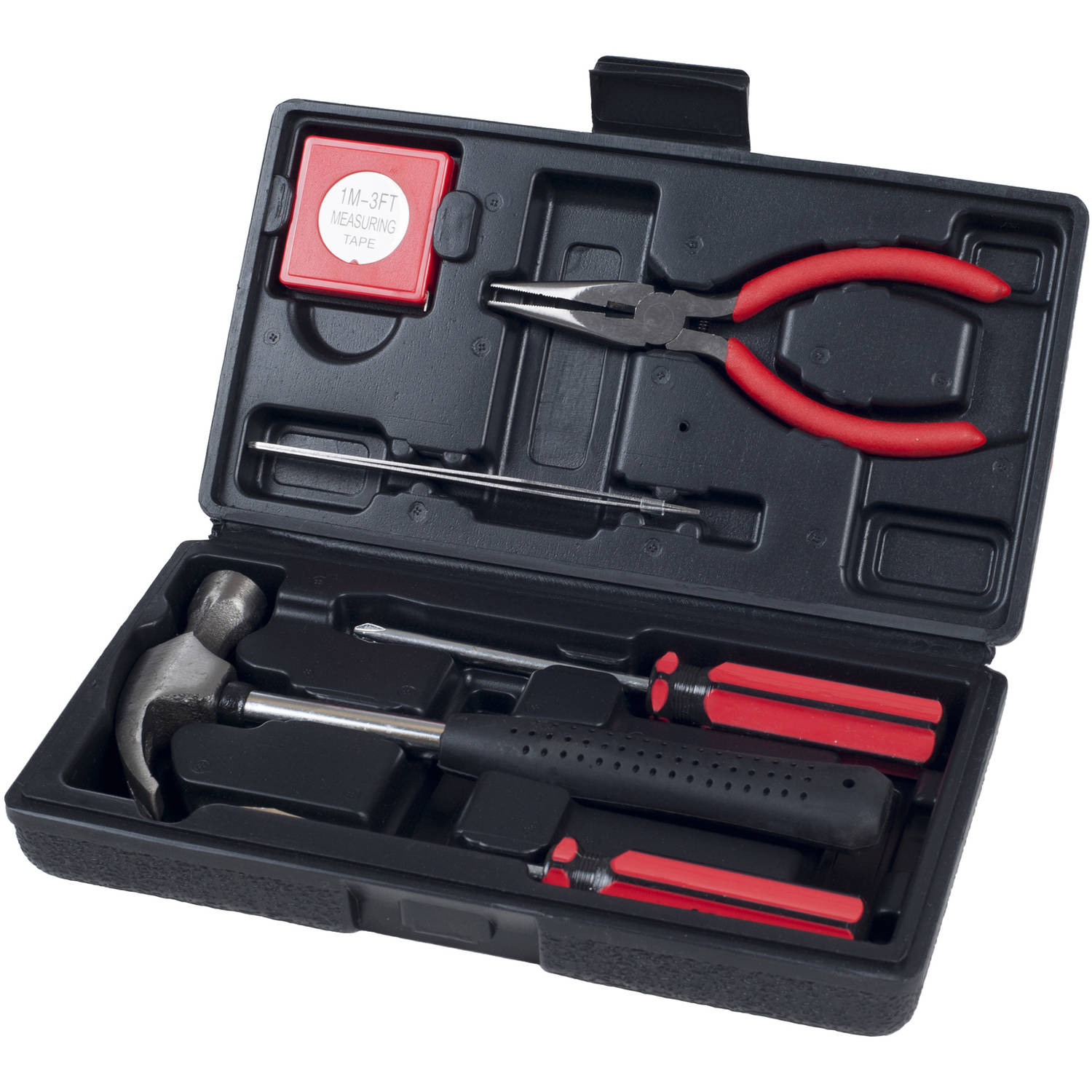 Stalwart 7-Piece Tool Kit, Household, Car and Office