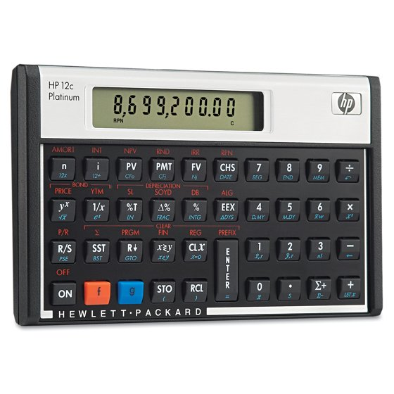 hp 12c financial programmable calculator user manual
