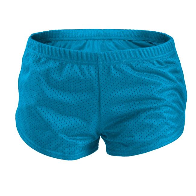 Birds Eye Mesh Tiny Shorts for Junior, Vivid Blue - Small - image 1 de 1