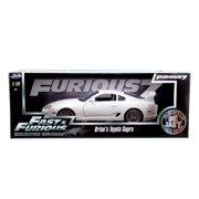 Fast & Furious: Brian's Toyota Supra (White) 1/18 Scale