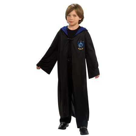 Harry Potter - Ravenclaw Robe Child Costume - Large - Ravenclaw Quidditch Robes