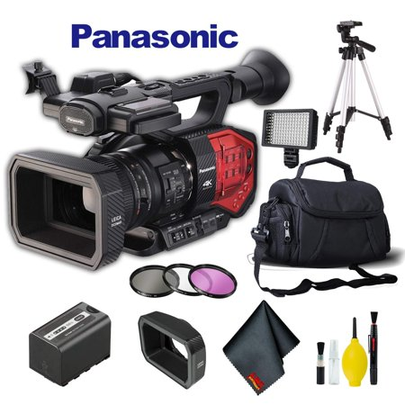 Panasonic AG-DVX200 4K Camcorder +Four Thirds Sensor and Integrated Zoom Lens Pl Plus Video Camera