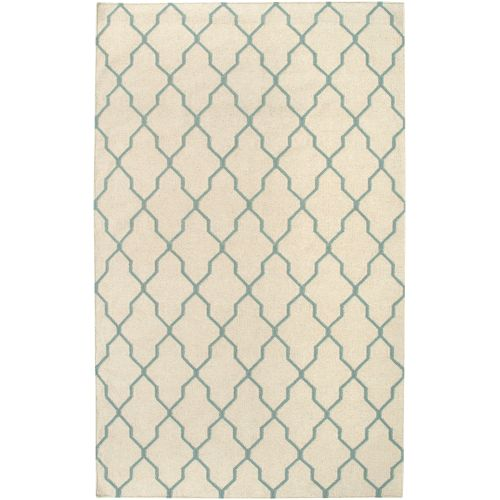 "Rizzy Home Off White Runner Rug In Wool 2'6"" x 8'"