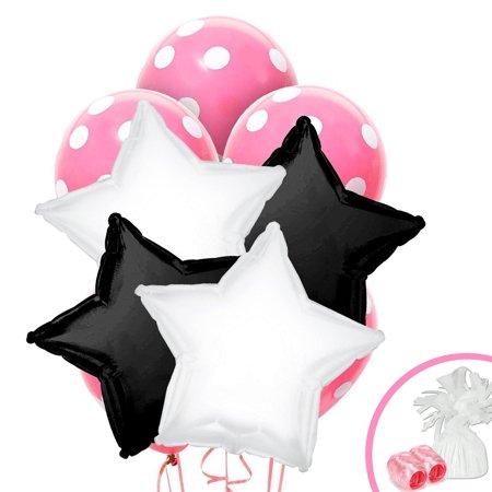 Balloon Halloween Costumes (Black White Pink Balloon)